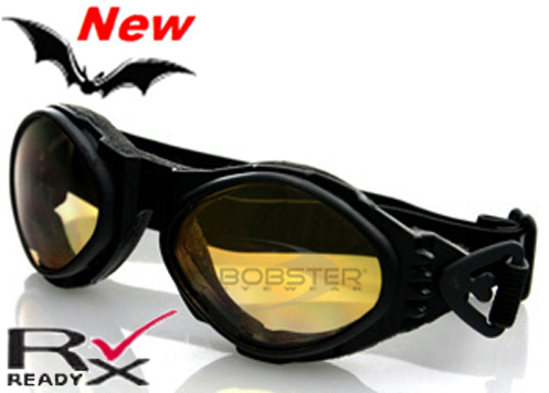 Bugeye Amber Lens Goggles, by Bobster
