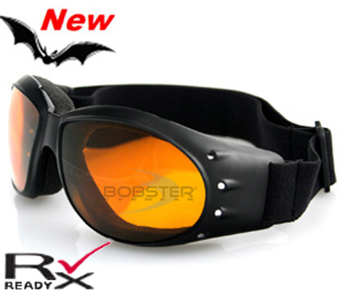 Cruiser Amber Lens Goggles, by Bobster
