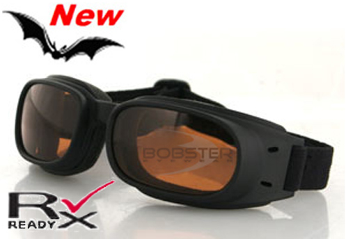 Piston Amber Lens Goggles, by Bobster