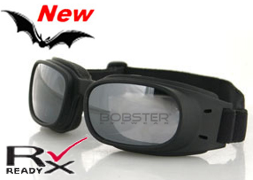 Piston Smoked Reflective Lens Goggles, by Bobster