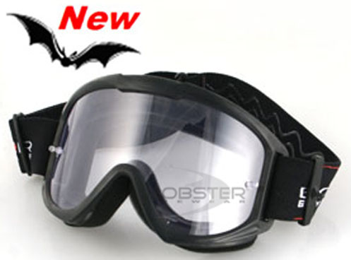 MX1-100 Off-Road Black Goggles, by Bobster