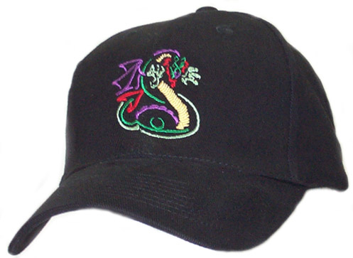 Color Outline Full Dragon Cap