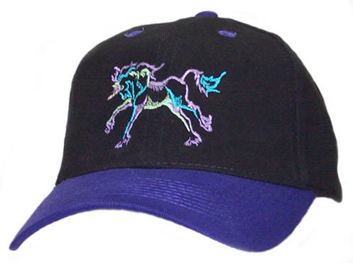 Unicorn Color Outline Cap