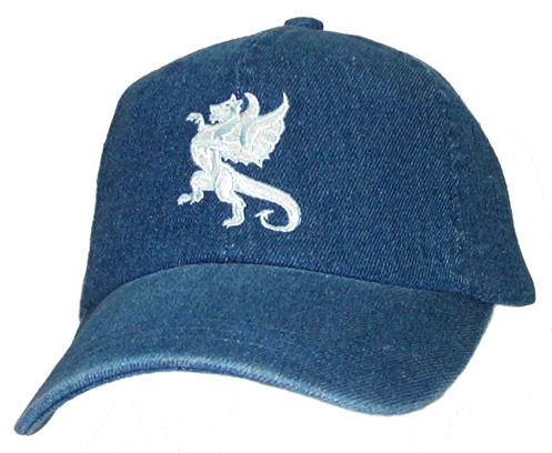 White Medievel Dragon Cap