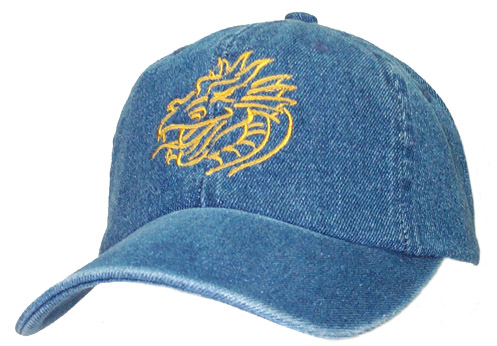 Outline Dragon Bust Cap