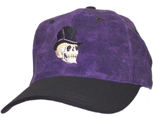 Skull Top Hat Cap