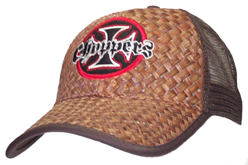 Choppers Straw Brown Cap