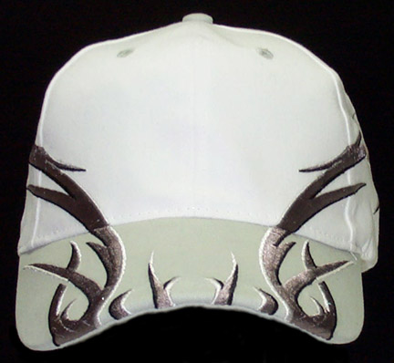 Tribal Thorn White Cap