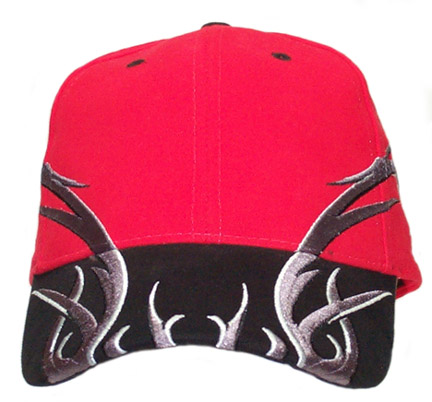 Tribal Thorns Red Cap