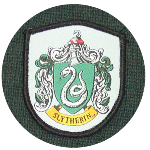 Slytherin House Scarf by Harry Potter