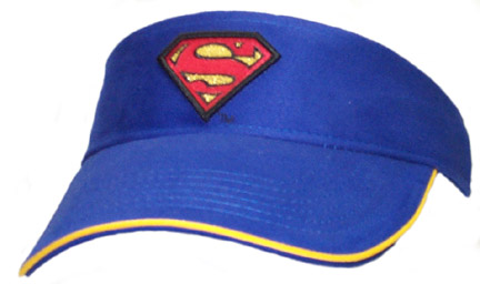Superman Blue Visor