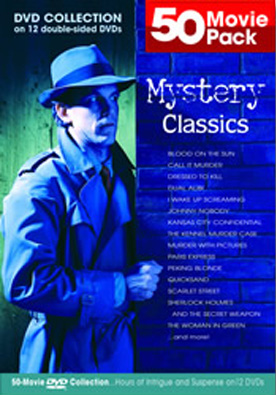 Mystery Classics 50 pack Movies