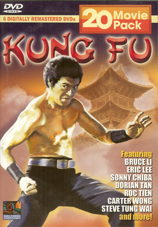 Kung Fu 20 pack Movies