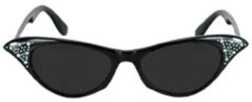 Fab 50's Black Sunglasses