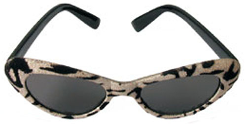 Cat Eye Bk/Brown Sunglasses