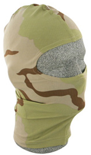 3 Color Desert Camo, Nylon Balaclava