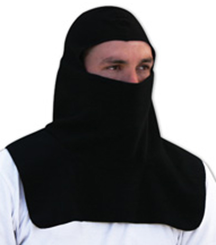 Black Fleece w/Spandex Crown, Balaclava